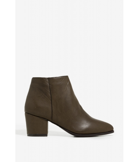 Incaltaminte Femei CheapChic Cool Girls Booties Olive