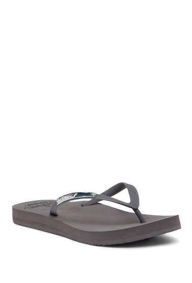 Incaltaminte Femei Reef Slip-On Metal Accent Sandal GREY