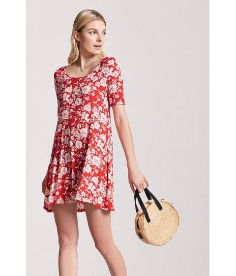 Imbracaminte Femei Forever21 Floral Swing Dress REDIVORY