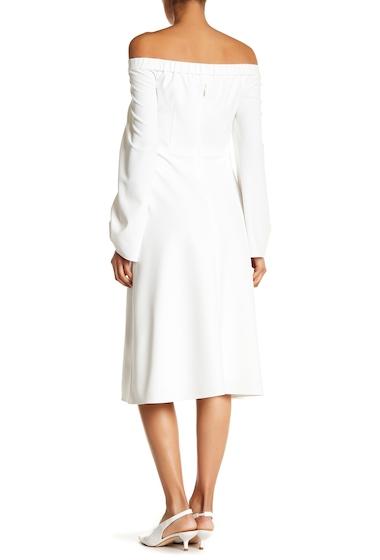 Imbracaminte Femei Tibi Off-the-Shoulder Midi Dress IVORY