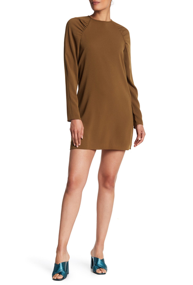 Imbracaminte Femei Tibi Sav Raglan Sleeve Shift Dress LODEN