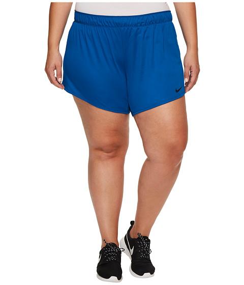 Imbracaminte Femei Nike Dry Training Short (Size 1X-3X) Blue JayBlackBlack