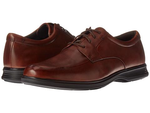 Incaltaminte Barbati Rockport Dressports 2 Light Apron Toe New Brown Leather