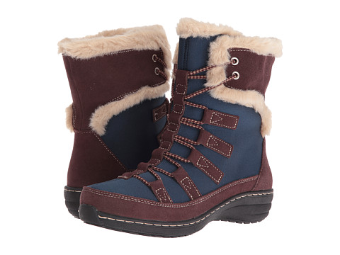 Incaltaminte Femei Aetrex Berries Short Lace-Up Boot Blueberry