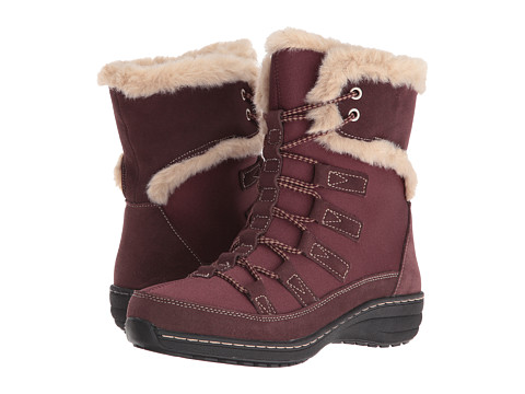 Incaltaminte Femei Aetrex Berries Short Lace-Up Boot Cranberry