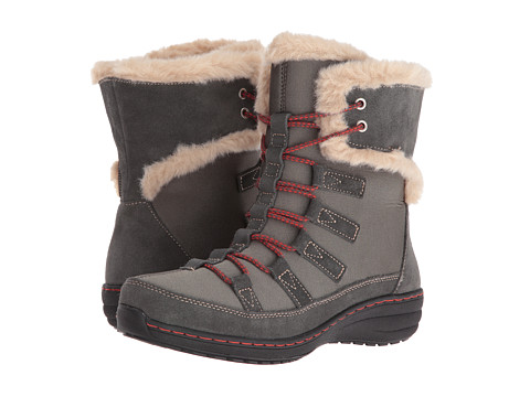 Incaltaminte Femei Aetrex Berries Short Lace-Up Boot Greyberry