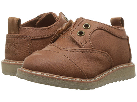 Incaltaminte Baieti TOMS Brogue (InfantToddlerLittle Kid) Toffee Synthetic Leather