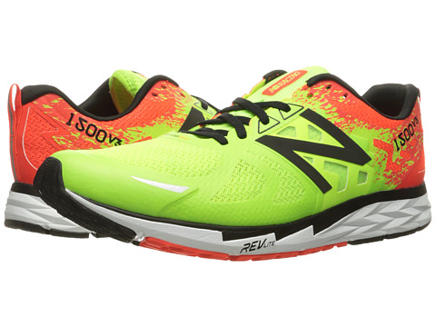 Incaltaminte Barbati New Balance 1500v3 Lime GloAlpha Orange