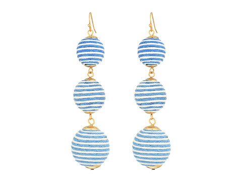 Bijuterii Femei Marc Jacobs Matilda Stripe Linear Drop Earrings Light Blue