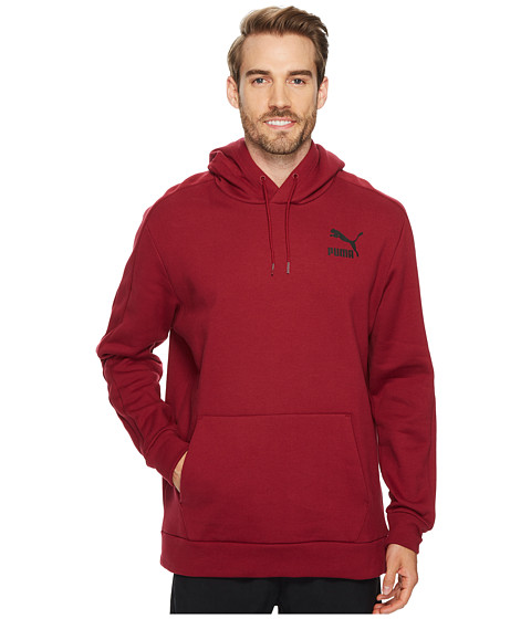 Imbracaminte Barbati PUMA T7 Oversized Heavy Hoodie Tibetan Red