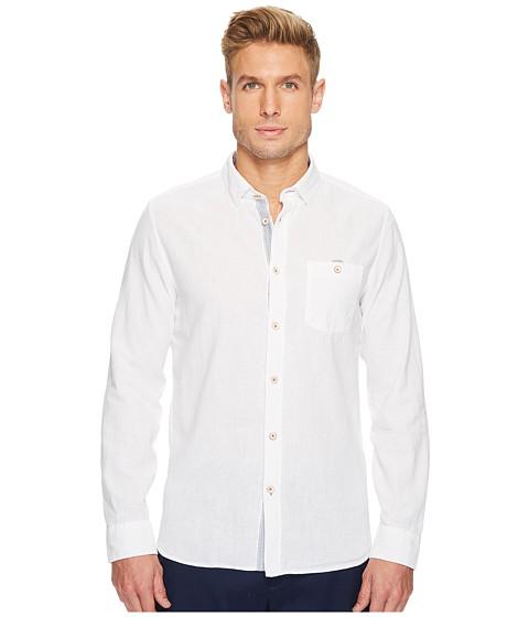 Imbracaminte Barbati Ted Baker Carwash Linen Shirt White