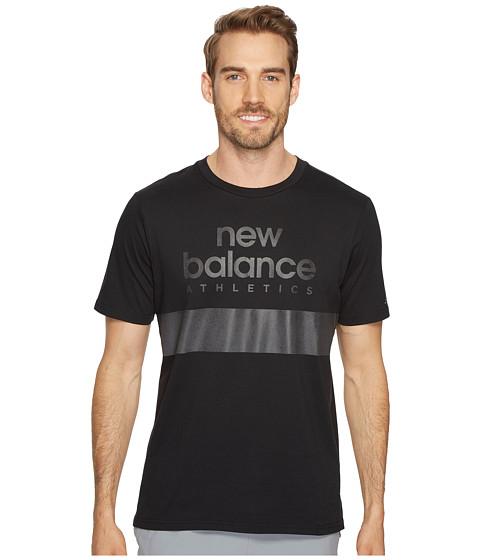Imbracaminte Barbati New Balance NB Athletics Reflective Tee Black