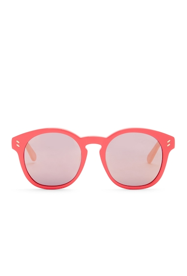 Ochelari Femei Stella McCartney Womens Round Sunglasses BRIGHT PINK