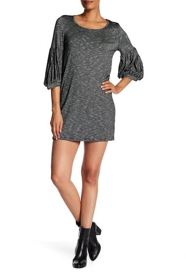 Imbracaminte Femei Vanity Room Balloon Sleeve Strip Dress BLACK