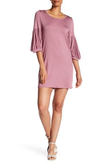 Imbracaminte Femei Vanity Room Balloon Sleeve Strip Dress MAUVE