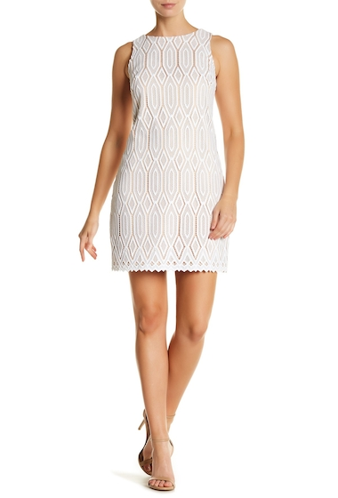 Imbracaminte Femei Vince Camuto Lace Overlay Shift Dress NDW