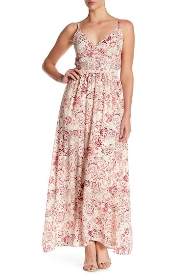 Imbracaminte Femei WEST KEI Print Smocked Waist Maxi Dress RED BATIK