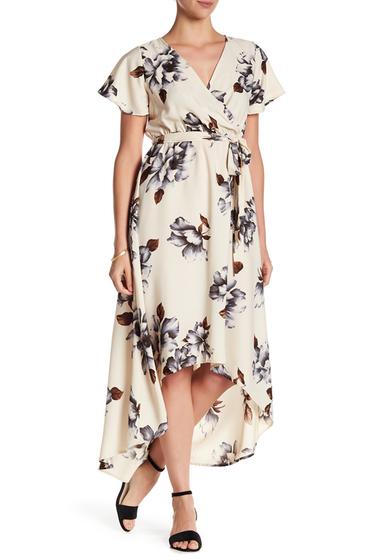 Imbracaminte Femei WEST KEI Floral Hi-Lo Dress IVORYGREY