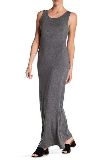 Imbracaminte Femei WEST KEI Solid Cross Strap Maxi Dress CHARC GREY
