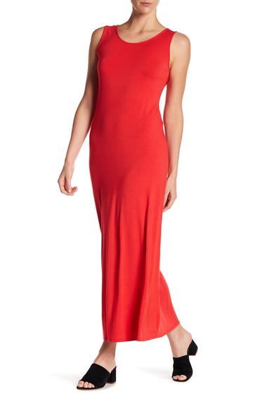 Imbracaminte Femei WEST KEI Solid Cross Strap Maxi Dress POPPY RED