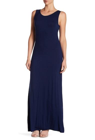 Imbracaminte Femei WEST KEI Solid Cross Strap Maxi Dress NAVY