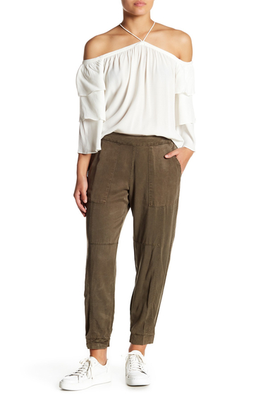 Imbracaminte Femei 1State Patch Pocket Joggers 325-OLIVE BRANCH