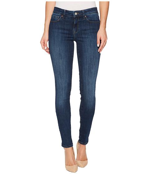 Imbracaminte Femei Mavi Jeans Adriana Mid-Rise Super Skinny in Deep Indigo Tribeca Deep Indigo Tribeca
