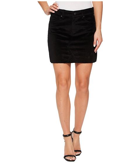 Imbracaminte Femei Blank NYC Black Velveteen Mini Skirt in Raven Feather Raven Feather