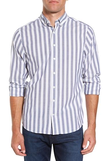 Imbracaminte Barbati Gant Slim Fit Tech Varsity Stripe Sport Shirt EVENING BL