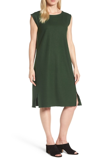 Imbracaminte Femei Eileen Fisher Wool Jersey Shift Dress DPHMK