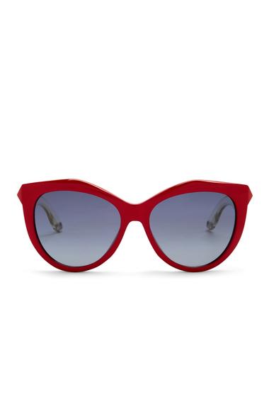 Ochelari Femei Givenchy Womens 55mm Retro Sunglasses RED CRY RE