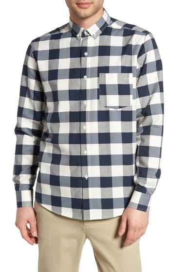 Imbracaminte Barbati TOPMAN Check Twill Shirt STONE MULTI