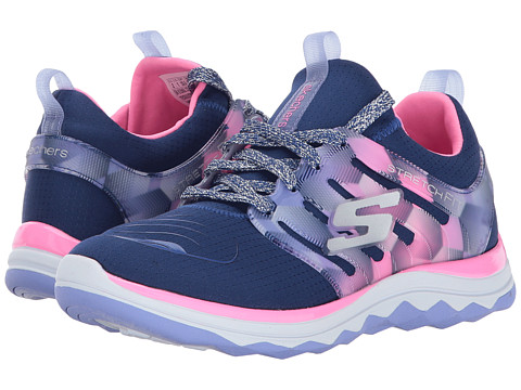 Incaltaminte Fete SKECHERS Diamond Runner 81560L (Little KidBig Kid) NavyHot Pink