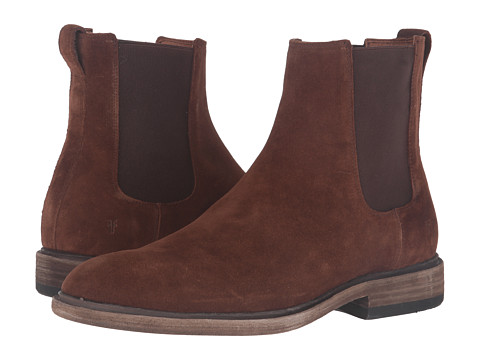 Incaltaminte Barbati Frye Chris Chelsea Brown Oiled Suede