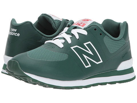 Incaltaminte Fete New Balance KL574V1G (Big Kid) Hunter GreenWhite