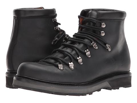 Incaltaminte Barbati Frye Woodson Arctic Grip Black Smooth Full GrainSoft Vintage Leather