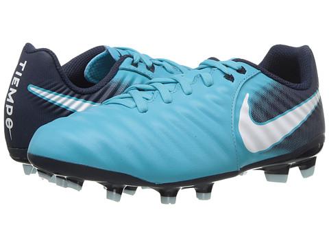 Incaltaminte Baieti Nike Tiempo Ligera IV Firm Ground Soccer Boot (ToddlerLittle KidBig Kid) Gamma BlueWhiteObsidianGlacier Blue