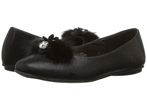 Incaltaminte Fete kensie Fuzzy Toe Flat (Little KidBig Kid) Black