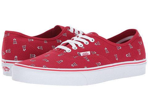 Incaltaminte Femei Vans Authentic x MLB (MLB) Anaheim AngelsRed