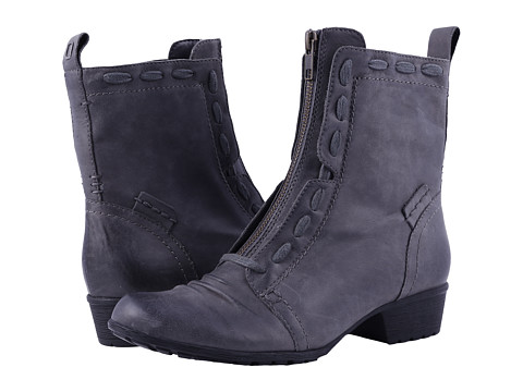 Incaltaminte Femei Rockport Cobb Hill Gratasha Zip Boot Dark Grey Nubuck