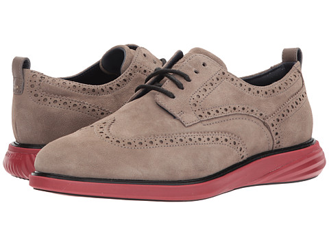 Incaltaminte Barbati Cole Haan Grand Evolution Shortwing Toadrock SuedeSun Dried Tomato