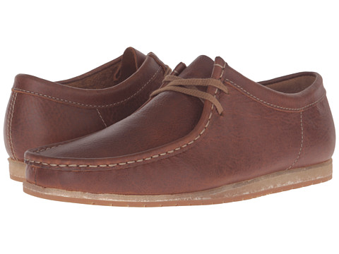 Incaltaminte Barbati Clarks Wallabee Step Tan Leather