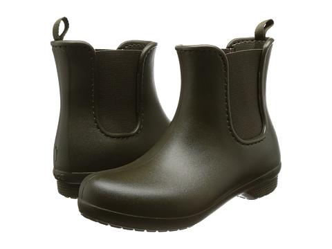 Incaltaminte Femei Crocs Freesail Chelsea Boot Dark Camo Green
