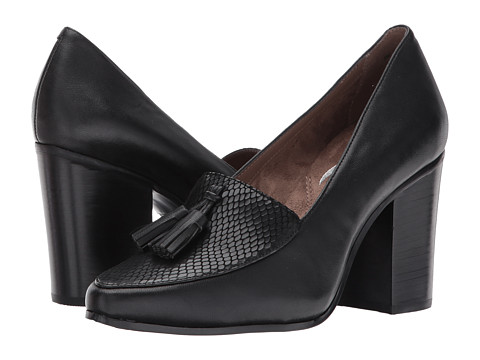 Incaltaminte Femei Aerosoles Times Square Black Leather