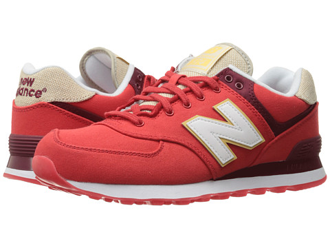 Incaltaminte Barbati New Balance ML574 - Retro Surf Chinese RedWhite