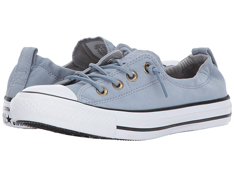 Incaltaminte Femei Converse Chuck Taylor All Star Shoreline - Slip Peached Canvas Blue SlateAsh GreyWhite