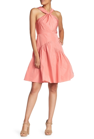 Imbracaminte Femei Rebecca Taylor Halter Solid Sleeveless Dress CORAL