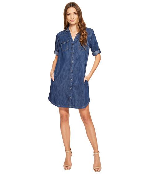Imbracaminte Femei Mavi Jeans Bree Shirtdress Mid Indigo
