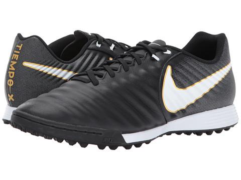 Incaltaminte Barbati Nike TiempoX Ligera IV TF BlackWhiteBlack