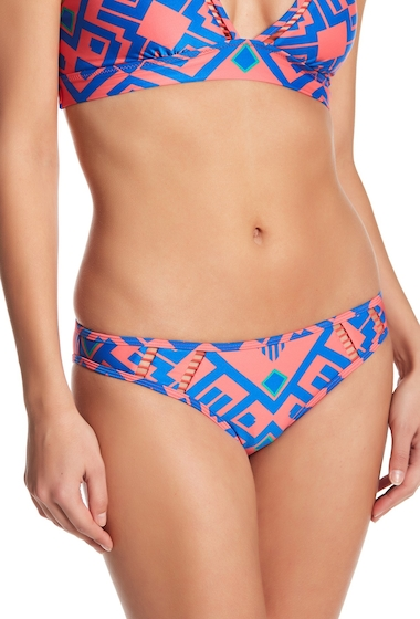 Imbracaminte Femei Red Carter Allover Patterned Bikini Bottom PASSION